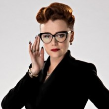 The wonderful Keeley Hawes guest stars as the villainous Ms Delphox in 'Doctor Who' this Saturday.