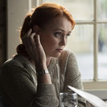 Keeley Hawes Stars In The New BBC One Drama 'The Casual Vacancy' on Sunday 15th Feb