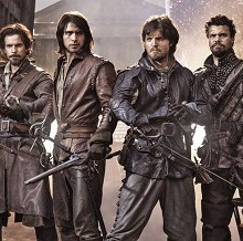 Chris Corrigan Stars In The Series Opener Of Everyone's Favourite 'The Musketeers' On BBC One