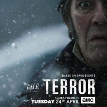Christos Lawton and Chris Corrigan feature in much anticipated TV outing of the Ridley Scott's produced 'The Terror' on BT TV at 9pm on 24th April.