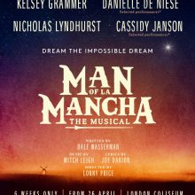 Cassidy Janson stars in 'Man of La Mancha' at the London Coliseum