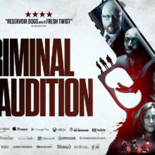 Rich Keeble stars in British Indie 'Criminal Audition'