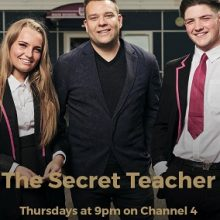 Edith Bowman narrates new series 'The Secret Teacher' on Channel 4