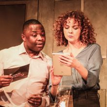 Catherine Bailey stars in 'The Process' at the Bunker Theatre