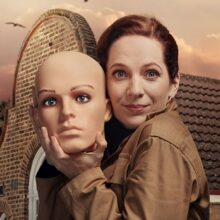 Katherine Parkinson stars in the latest series of 'Taskmaster'