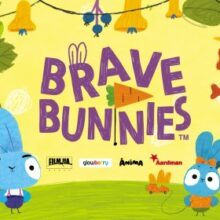 Young One Wilbur is the lead voice of Bop in brand new pre-school animation 'Brave Bunnies'