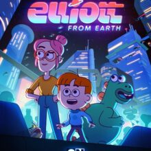 Landing soon…Ashton Frank is in new animated sci-fi comedy 'Elliott from Earth'