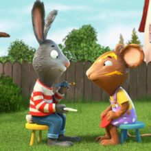 Young One Isaac is in brand new pre-school animation 'Pip & Posy'